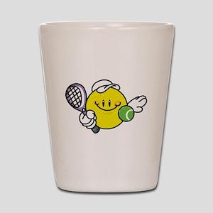 Smile Face Tennis Shot Glass