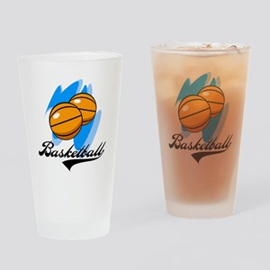 Basketball Pint Glass