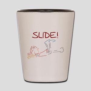 Baseball Slide Shot Glass