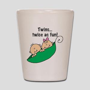 Twins Twice as Fun Shot Glass