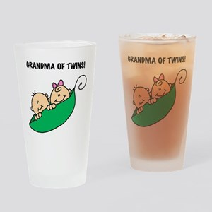 Grandma of Twins Pint Glass