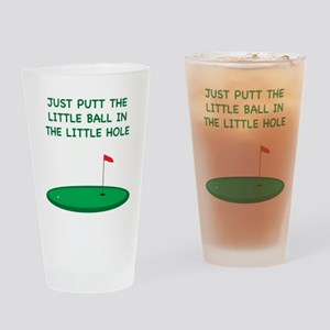 Golf Pint Glass