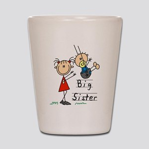 Swing Big Sister Little Brother Shot Glass