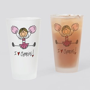 Pink Love Cheering Pint Glass