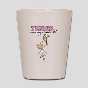 Tennis is my Sport Shot Glass
