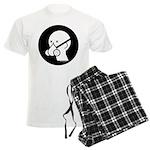 Gas Mask V1 Men's Light Pajamas