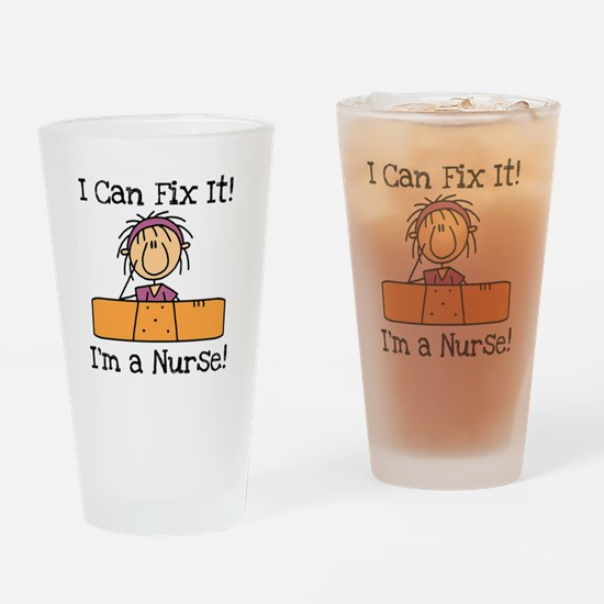 Fix It Nurse Pint Glass