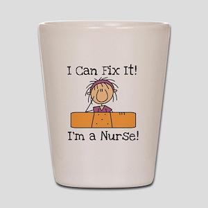 Fix It Nurse Shot Glass