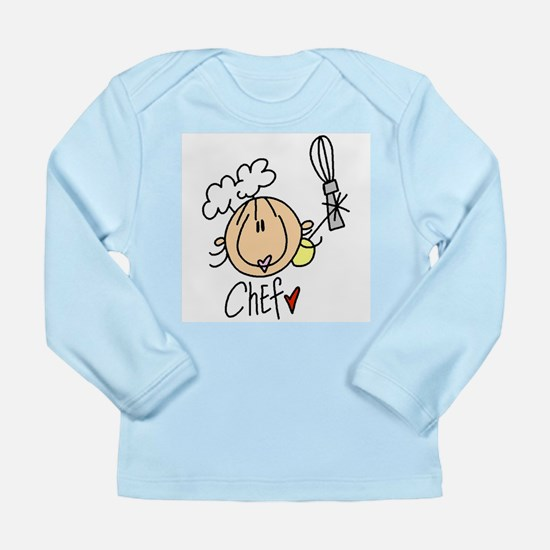 Female Chef Long Sleeve Infant T-Shirt
