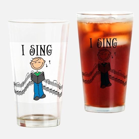 I Sing (MALE) Pint Glass