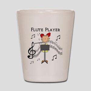 Flute Player Shot Glass