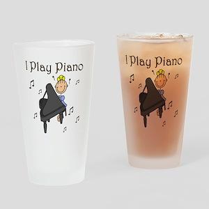 I Play Piano Pint Glass