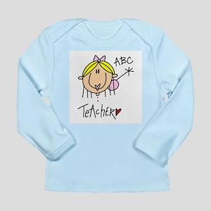 Female Teacher Long Sleeve Infant T-Shirt