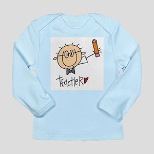 Male Teacher Long Sleeve Infant T-Shirt