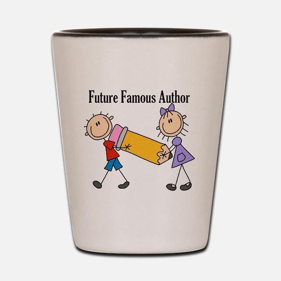 Future Famous Author Shot Glass