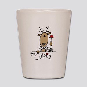 Cupid Reindeer Shot Glass