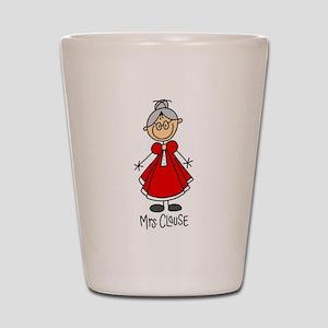Mrs. Santa Claus Shot Glass