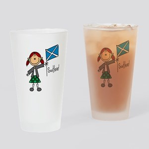 Scotland Ethnic Pint Glass