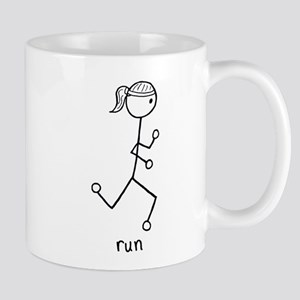 Running Girl Mug