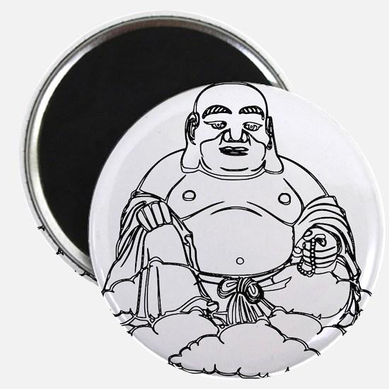 Gold Buddha Statue Icon Magnet