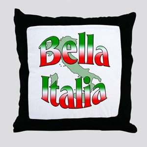 Bella Italia Throw Pillow