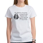 definition of insanity Women's T-Shirt
