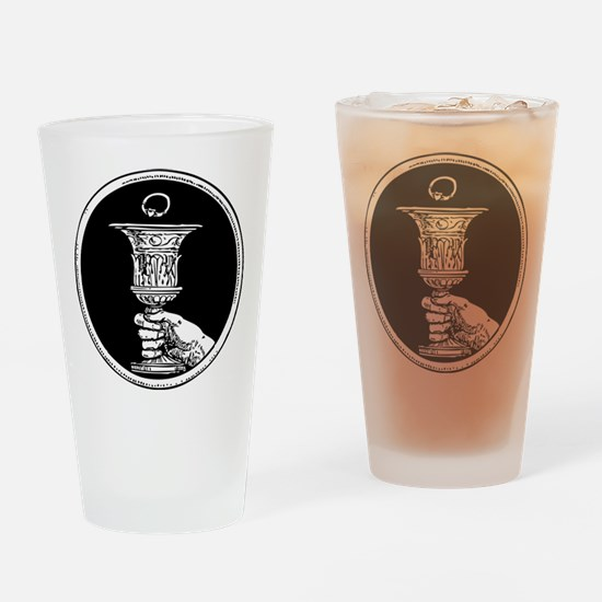 Chalice And Claddagh Ring Pint Glass
