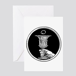 Chalice And Claddagh Ring Greeting Card