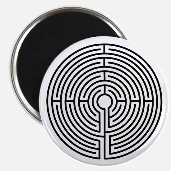 Medieval Labyrinth Symbol Magnet