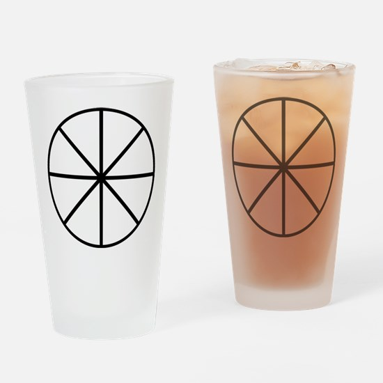 Alchemical Symbol For Ether Pint Glass