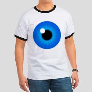Blue Eye Iris and Pupil Ringer T
