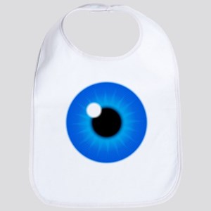 Blue Eye Iris and Pupil Bib