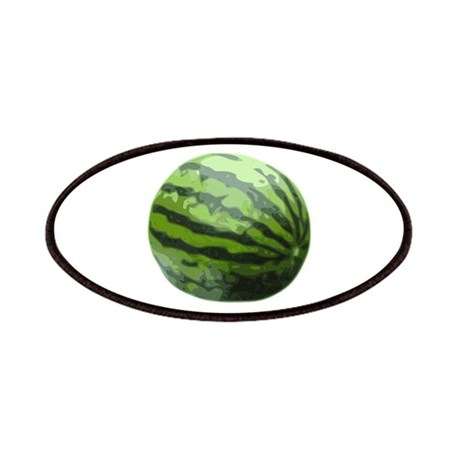 Watermelon Icon (color) Patches