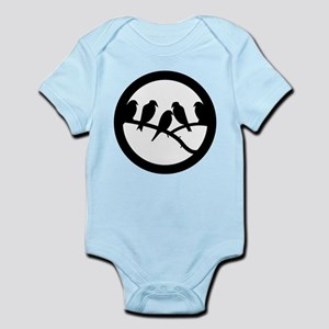 Bird Badge Icon Infant Bodysuit
