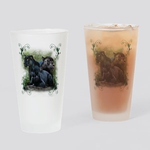 Black Jaguar Pint Glass