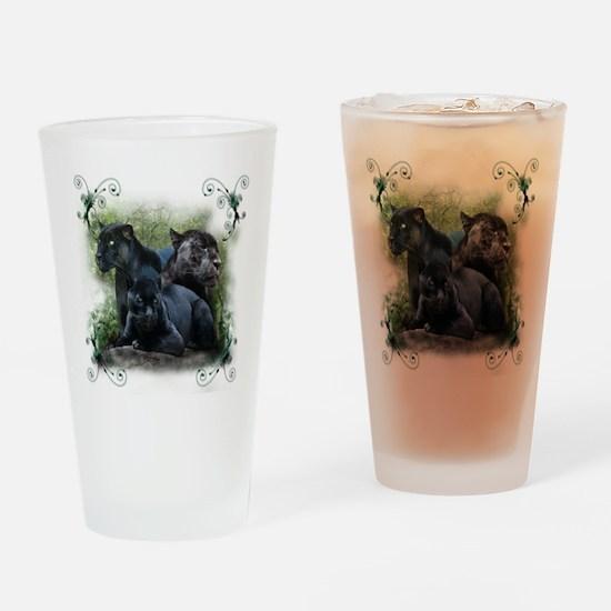 Black Jaguar Pint Glass