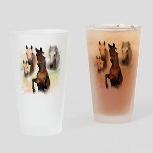 Celestial Horses Pint Glass