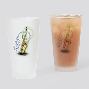 Soprano Saxophone Pint Glass