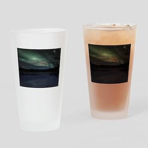 Northern Lights Pint Glass