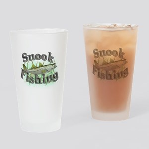 Snook Fishing Pint Glass