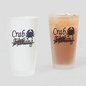Crab Fishing Pint Glass