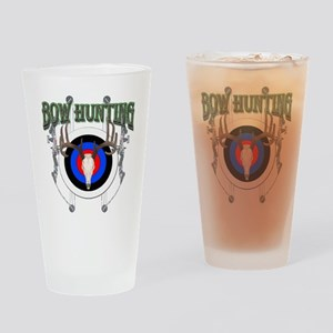 Bow Hunting Pint Glass