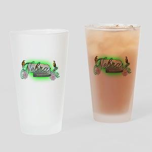 Nebraska Pint Glass