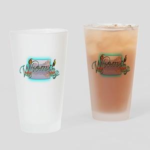 Wyoming Pint Glass