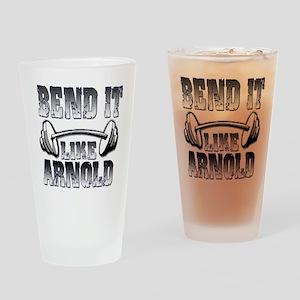Bend it Pint Glass