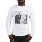 Gorilla Sign Language (no text) Long Sleeve T-Shir