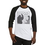 Gorilla Sign Language (no text) Baseball Jersey