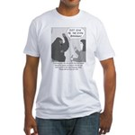 Gorilla Sign Language Fitted T-Shirt