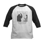 Gorilla Sign Language Kids Baseball Jersey
