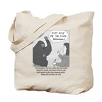 Gorilla Sign Language Tote Bag